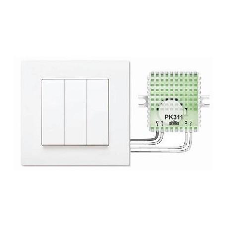 Пульт для кнопок PK311-1 (3 группы света)