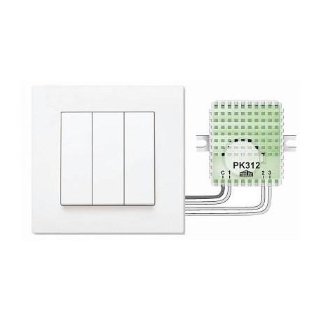 Пульт для кнопок PK312-1 (3 сценария)