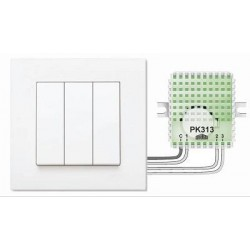 Пульт для кнопок PK313-1 (сценарий + 2 группы света)