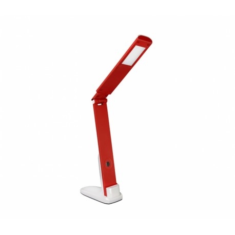 Настольный светильник Delux TF-310 5 Вт 4000К LED бело-красный
