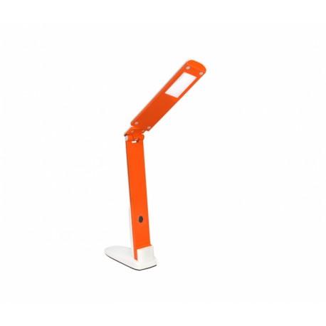 Настольный светильник Delux TF-310 5 Вт 4000К LED бело-оранжевый