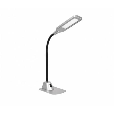 Настольный светильник Delux TF-450 5 Вт 4000К LED серебряный