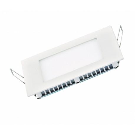 Потолочный светильник Delux CFR LED 10 4100K 6 Вт 220В квадрат