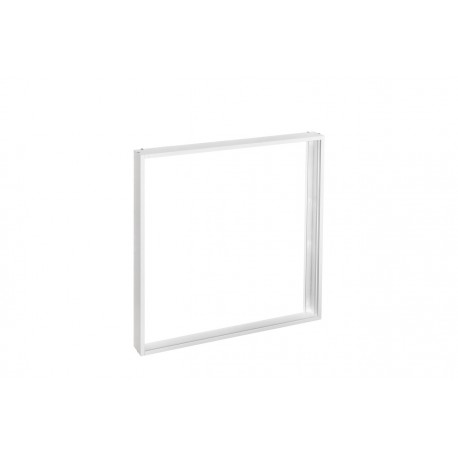 Рамка накладного монтажа для LED-панелей Delux белая