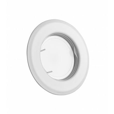 Точечный светильник неповоротный Delux HL160011 50Вт G5.3 белый