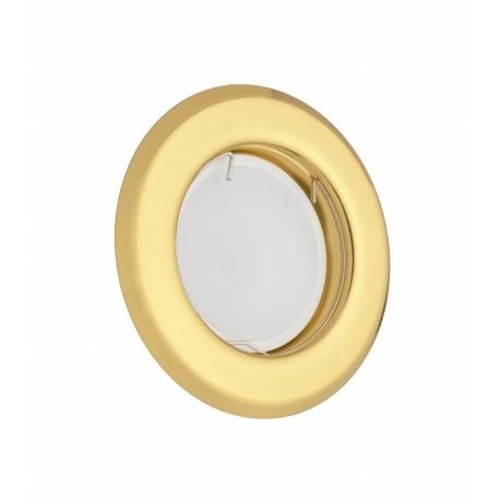 Точечный светильник неповоротный Delux HL160011 50Вт G5.3 золото