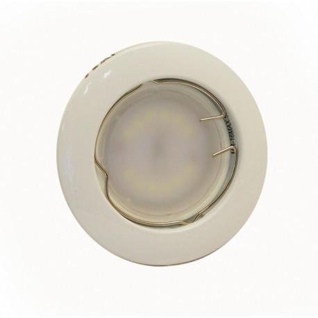 Точечный светильник неповоротный Delux HL16001 50Вт G5.3 хром мат.