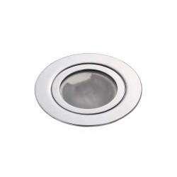 Точечный светильник неповоротный Delux HL16001 50Вт G5.3 хром мат.+лампа