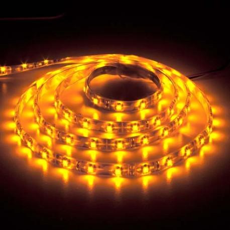 Светодиодная лента Feron SANAN LS604 60SMD/m 12V IP65 (желтый)