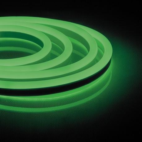 Светодиодная лента Feron LS720 120SMD/m 220V IP65 (зеленый) 50m
