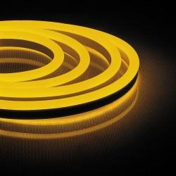 Светодиодная лента Feron LS720 120SMD/m 220V IP65 (желтый) 50m