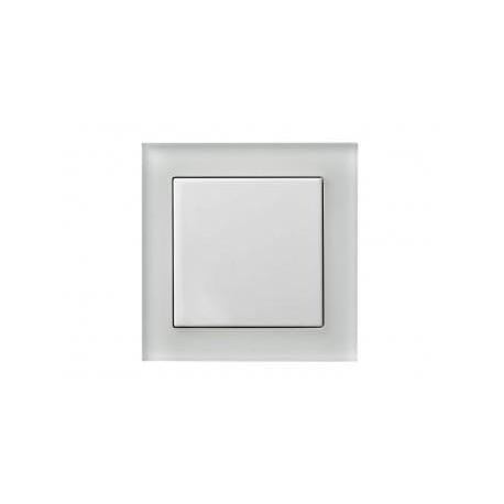Пульт PG212 белый (2 канала, стеклянная рамка)