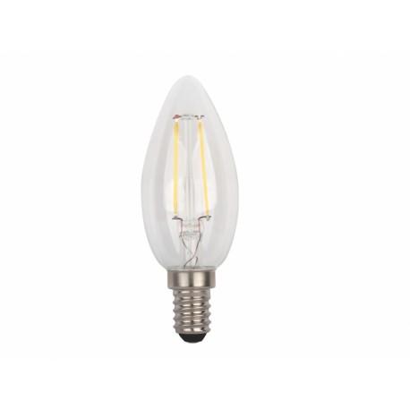 Светодиодная филаментная лампа Delux BL37B 4 Вт filam.2700K 220В E14