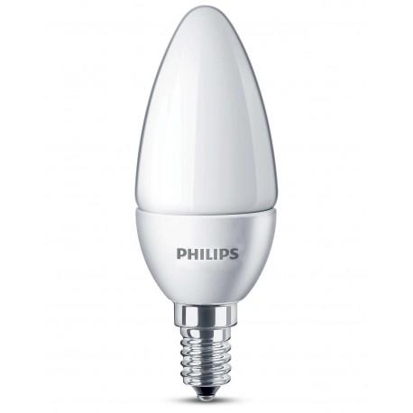 Светодиодная лампа Philips CorePro candle ND 5.5-40W E14 827 B35 FR
