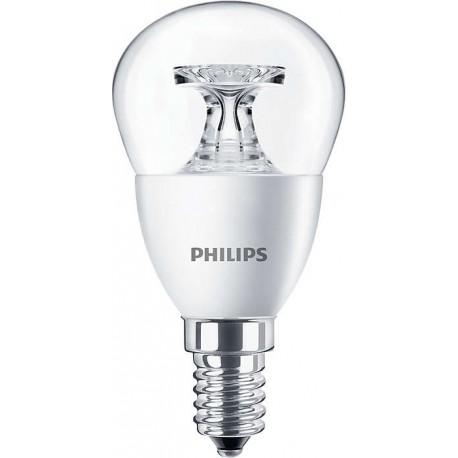 Светодиодная лампа Philips LED 5.5-40W E14 2700K 230V P45 CL ND_AP