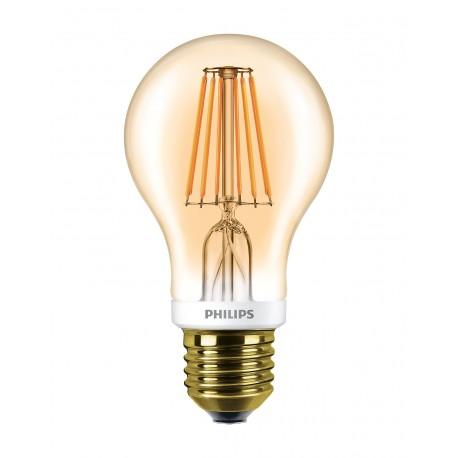Светодиодная лампа Philips LEDCla 7.5-60W A60 E27 2000K GOLD APR
