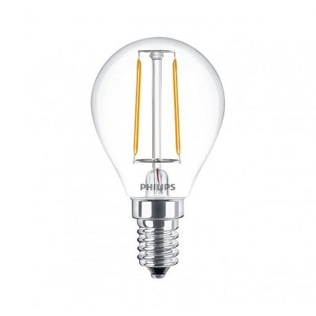 Светодиодная лампа Philips LEDClassic 2-25W P45 E14 WW CL ND APR
