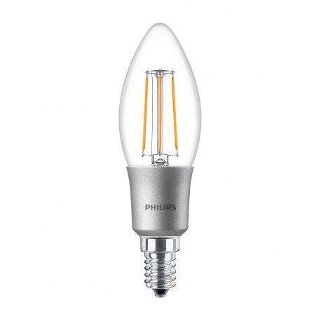 Светодиодная лампа Philips LEDClassic 4.5-50W B35 E14 WW CL D APR