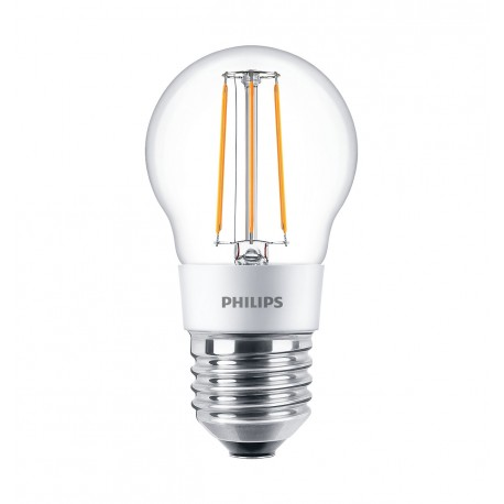 Светодиодная лампа Philips LEDClassic 4.5-50W P45 E27 WW CL D APR