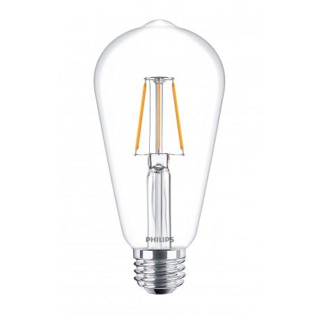 Светодиодная лампа Philips LEDClassic 4-50W ST64 E27 WW CL ND APR