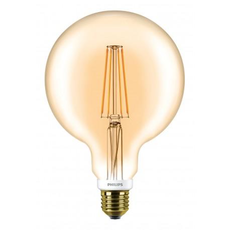 Светодиодная лампа Philips LEDClassic 7-60W G120 E27 2000K GOLD APR