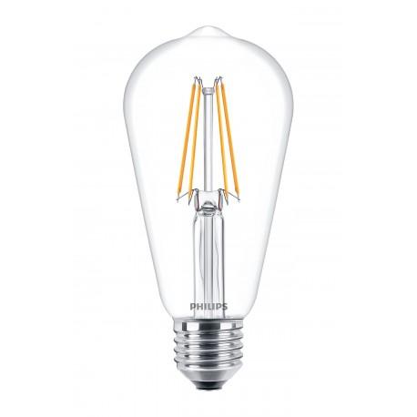 Светодиодная лампа Philips LEDClassic6-70W ST64 E27 WW CL ND APR
