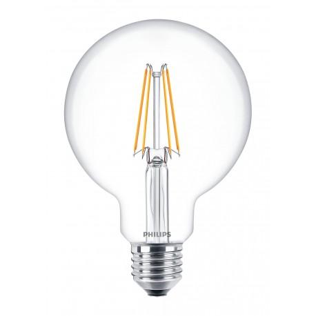 Светодиодная лампа Philips LEDClassic 6-70W G93 E27 WW CL ND APR