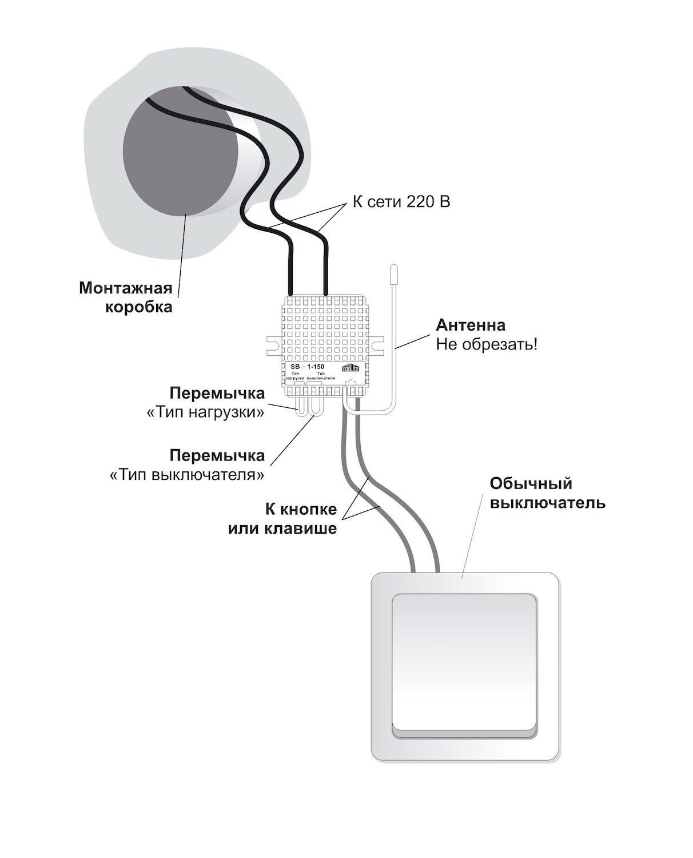 Схема подключения SB-1-150