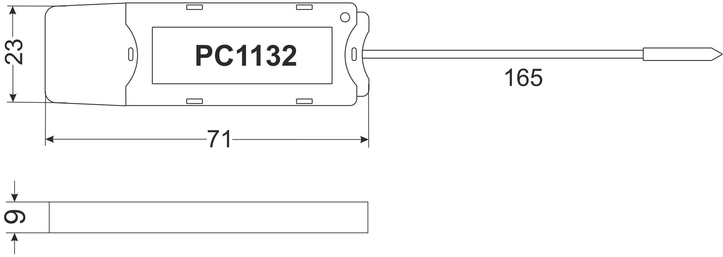 Габариты PC1132