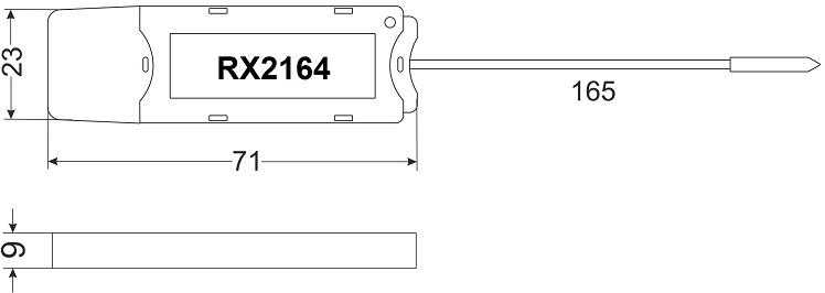 Габариты RX2164