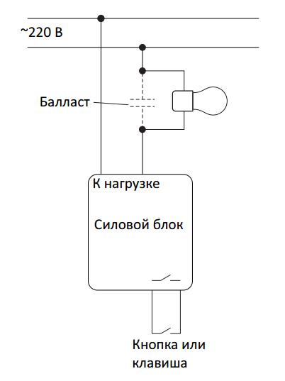 Подключение силового блока Noolite SB111-150 Ноотехника