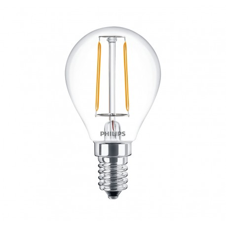 Светодиодная лампа Philips LEDClassic 2-25W P45 E14 WW CL ND APR