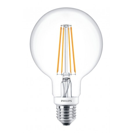Светодиодная лампа Philips LEDClassic 7-70W G93 E27 WW CL D APR