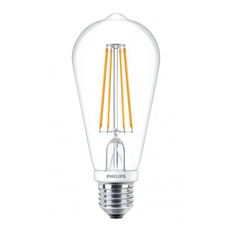 Светодиодная лампа Philips LEDClassic 7-70W ST64 E27 WW CL D APR