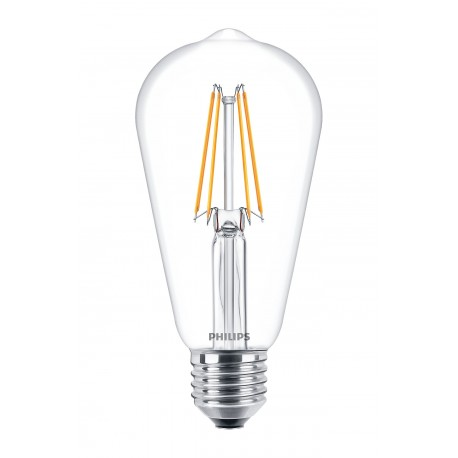 Светодиодная лампа Philips LEDClassic6-70W ST64 E27 WW CL ND APR